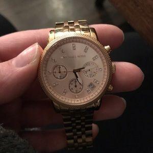Michael Kors Rose Gold Women's Wrist Watch